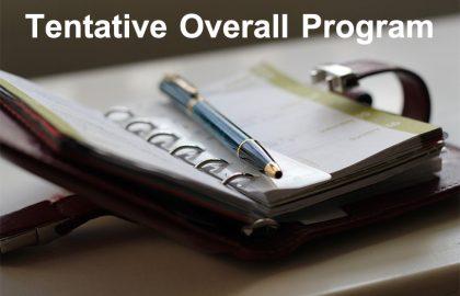 CWW Tentative Overall Program