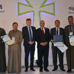 Honoring the winners of Best practices by farmers competition