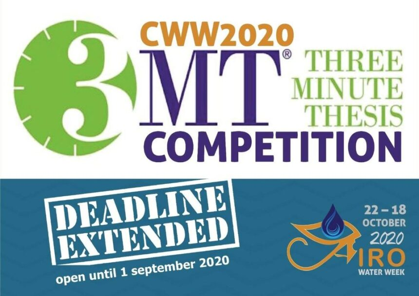 The Three-Minute Thesis Competition deadline extended
