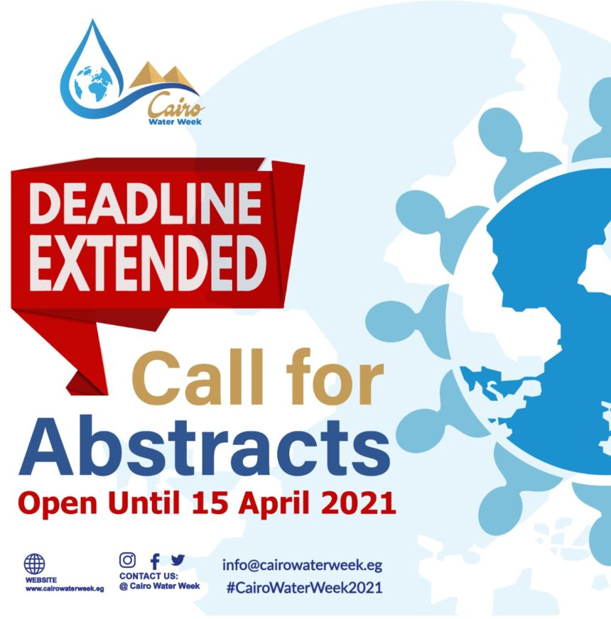 The abstract submission deadline has been extended