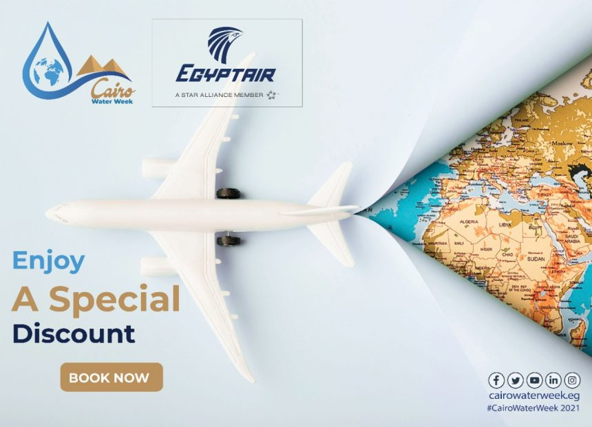 Egypt Air is offering a discount on the flight tickets for the registered participants in CWW2021 during the event period.